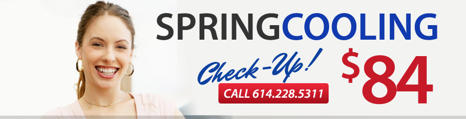 Spring Cooling Checkup $84